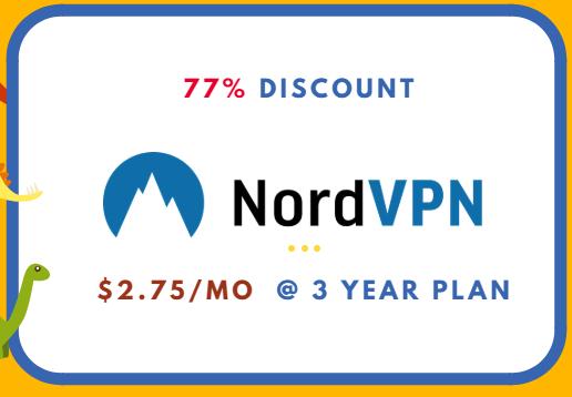 nordvpn coupon 77% discount