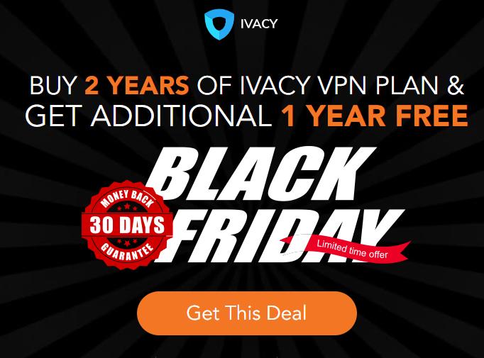 ivacy vpn black friday deals 2018